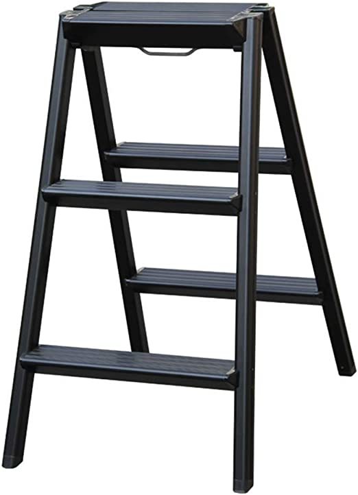 SCBED Escalera Plegable de Aluminio para el hogar, Escalera ...