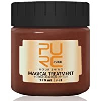 PURC 120ml Magical Treatment Mask Repairs Damage Hair Root and Restore Soft Hair Care 5 Seconds