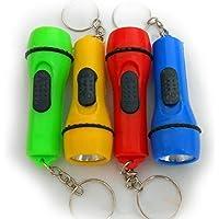 Shentian 12x LED-Taschenlampe an Schlüsselkette Mitgebsel Kindergeburtstag Schlüsselanhänger