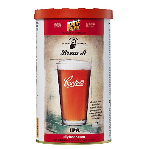 Coopers DIY Beer Thomas Coopers Brew A IPA Homebrewing Craft Beer Brewing Extract]()