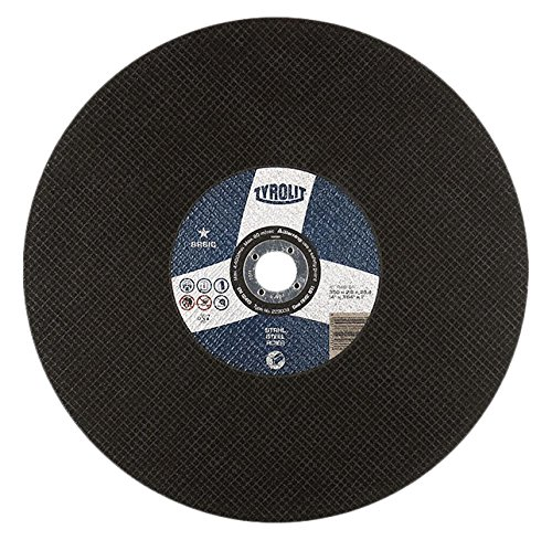 Tyrolit 41 Straight Cutting Disc, Fabric, Dimensions 300x2,5x25,4 223032, Pack of 10, Pack of 1 4223032