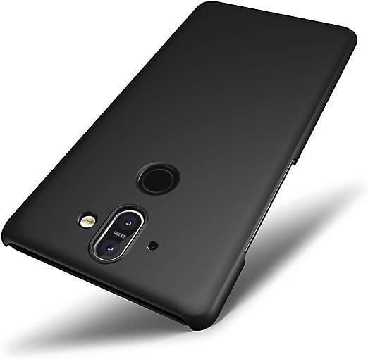 SLEO Funda para Nokia 8 Sirocco PC Back Cover de Parachoques Duro ...