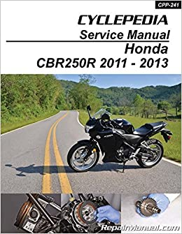cpp-118-p honda xr650r motorcycle cyclepedia printed service manual:  manufacturer: amazon com: books