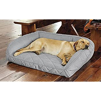 Amazon.com : Orvis Memory Foam Bolster Dog Bed/Large Dogs