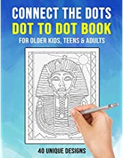 Connect the Dots: Dot To Dot Book for Older Kids, Teens & Adults | 40 Unique Designs