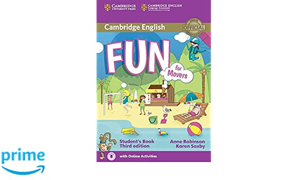 Fun for movers students book with audio with online activities fun for movers students book with audio with online activities anne robinson karen saxby 9781107444782 amazon books fandeluxe Choice Image