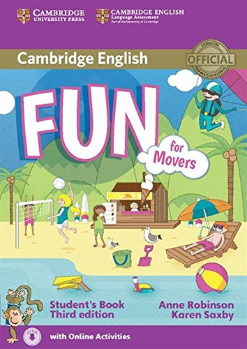 Fun for Movers Student's Book with Audio with Online - Fun Movers For