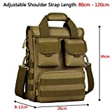 Tactical Briefcase Heavy Duty Military Shoulder