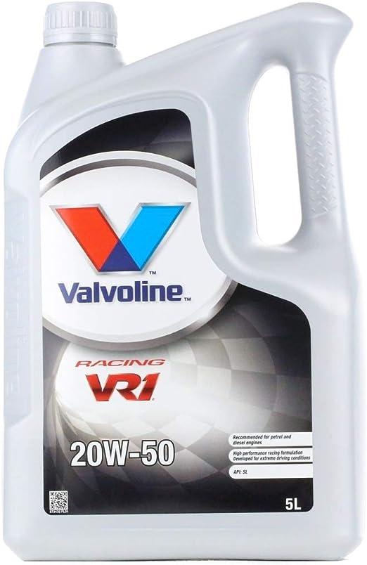 Valvoline Motoröl Motorenöl Motor Motoren Öl Motor Engine Oil Benzin Vr1 Racing 20w 50 Rallye 1l Auto