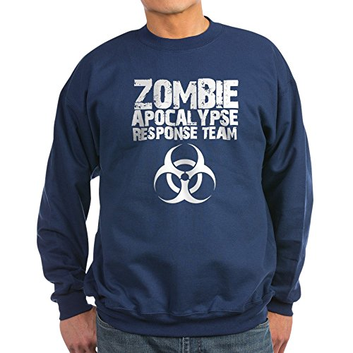 CafePress - CDC Zombie Apocalypse Respons Sweatshirt (Dark) - Classic Crew Neck Sweatshirt -