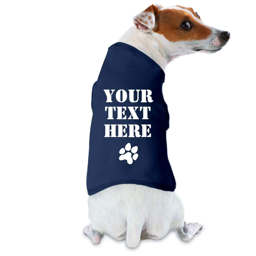 Customized Girl Personalized Dog Shirt: Dog Tank Top by Customized Girl