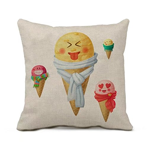 rewe-ice-cream-vintage-look-sofa-bed-home-decor-faux-linen-pillow-cover-cover-only