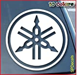Yamaha Car Window Vinyl Decal Sticker 4