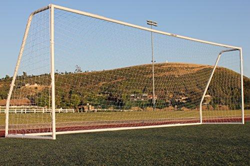 21' Soccer Goal (G3Elite Pro 21x7 Junior Youth Modified Regulation Soccer Goal, (1) 3.5mm Net, Strongest Portable 2