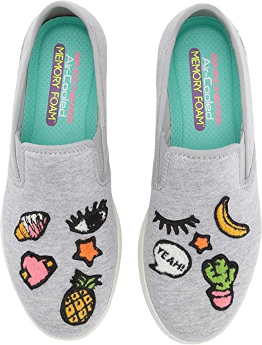 Skechers What's Gray Millennial Women's up B Light US 9 rwErzq4P