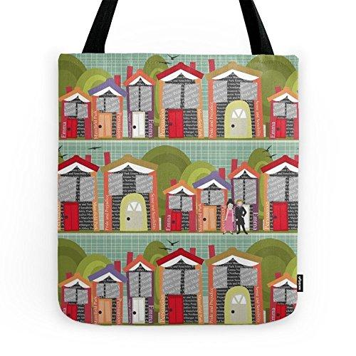 Society6 Literally Living In A Jane Austen Novel Tote Bag...