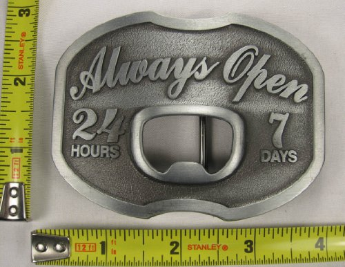 Beer Belt Buckle Bottle Opener (Always Open Belt Buckle Beer Bottle)