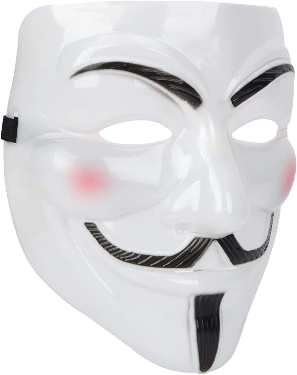 Anonymous Guy Mask White