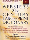 Webster's 21st Century Large Print Dictionary, Princeton Language Institute Staff, 0385316437
