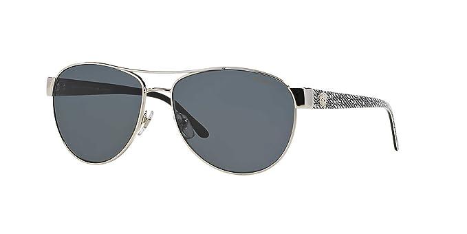 58c4aabe92 Versace Sunglasses VE2145 Polarized 100081  Amazon.co.uk  Clothing