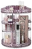 Sorbus Rotating Makeup Organizer, 360° Rotating Adjustable Carousel Storage for Cosmetics, Toiletries,