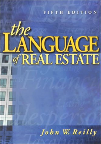 Language of Real Estate by Brand: Dearborn Real Estate Education