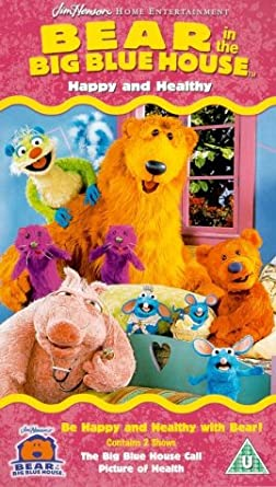 bear in the big blue house happy and healthy vhs - Big Blue House