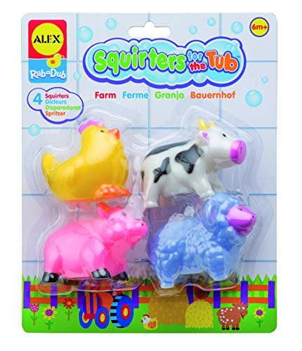 Alex Toys Squirters (ALEX Toys Rub a Dub Squirters for the Tub - Farm)