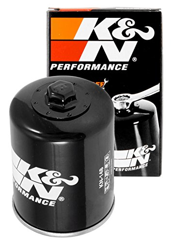 KN-148 K&N Performance Oil Filter; POWERSPORTS; CANISTER (Powersports Oil Filters):