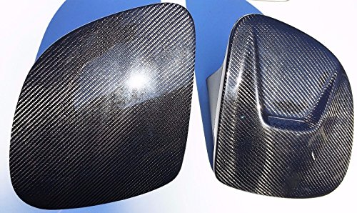 NPBoosted 1993 1994 1995 1996 Mazda RX-7 RX7 FD Carbon Fiber Headlight Covers Vented Set