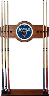 Trademark Gameroom NCAA université du Maine de Billard Cue Rack avec Miroir LRG6000-ME
