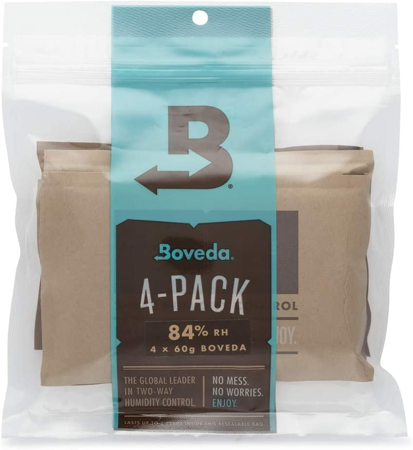 4-Pack Boveda 84/% RH 60 Grams