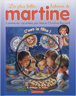 Martine Livres Cd C Est La Fete Livre Cd French