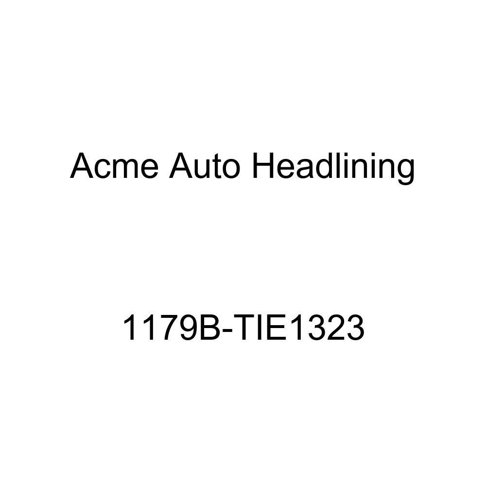 1957 Buick Century 4 Door Riviera Hardtop 8 Bows, 0 Chrome Acme Auto Headlining 1179B-TIE1323 Light Blue Replacement Headliner