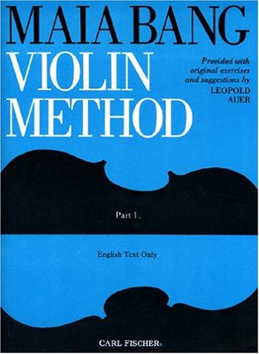 O2498 - Maia Bang Violin Method - Part 1