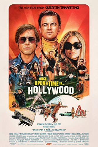Once Upon A Time in Hollywood - Movie Poster - Size 27