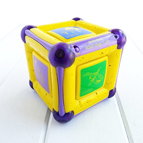 - bgt Embryonics Mozart Magic Cube Kids Musical Educational Toy Lights & Sounds Baby