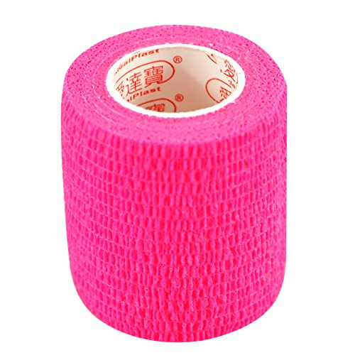 Pack of 3 Rolls Waterproof Self Adhesive Bandage Tape Finger Joints Wrap (Bandages Finger Wrap)