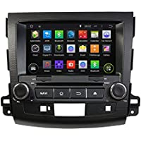 8 Android 6.0 Otca Core Car GPS DVD Multimedia Player for Mitsubishi Outlander 2006 2007 2008 2009 2010 2011 2012 With Car Stereo Radio WIFI Bluetooth Steering Wheel Control