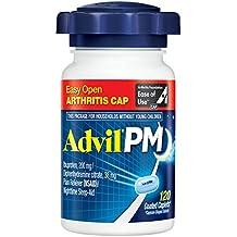 Advil PM Caplets Easy Open Arthritis Cap, 120 Count