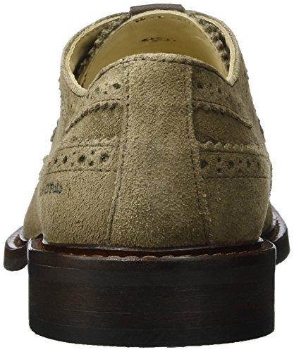70823773402303 Taupe Stringate Uomo Shoe E Brouge Scarpe Marc Lace Up O'Polo Marrone 1qUTgU