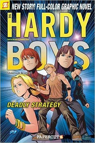 Hardy Boys #18: D.A.N.G.E.R. Spells the Hangman! (Hardy Boys Graphic Novels)