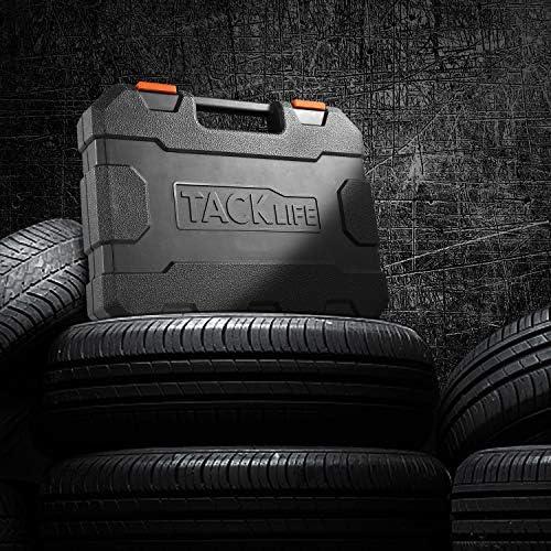 TACKLIFE 1/2-inch Drive Impact Socket Set Metric and SAE