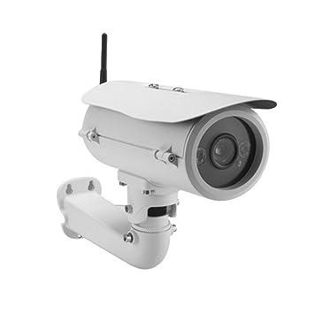 wly&home Cámaras de Vigilancia Exterior, 720P Cámara IP WiFi de Exterior/Impermeable 50m Super