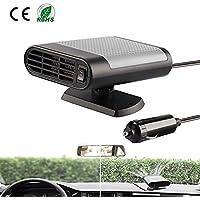 G&X Draagbare Auto Heater 12V Auto Defogger Voorruit Ontdooimachine Snelle Heater Fan Plug in Sigarettenaansteker 12…