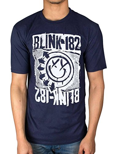 Official Blink 182 EU Deck T-Shirt - Xxl Official T-shirt