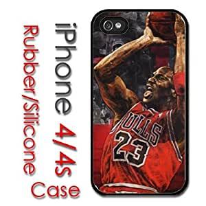 iPhone 5c for kids Rubber Silicone Case - Michael Air Jordan #23 Chicago Bulls