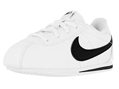 new arrival 8902f 31574 Nike Toddlers Cortez (TD) White Black Running Shoe 9 Infants US
