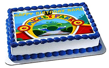 Image Unavailable Not Available For Color Mickey Mouse Clubhouse 2 Edible Birthday Cake