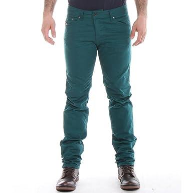 67393220 Diesel Mens Diesel Jeans Darron 8QU Regular Slim-Tapered 28/32 Leaf Green:  Amazon.co.uk: Clothing
